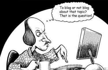 Blog or not to blog- key component of a social media plan- quality content is critical